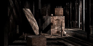 Wood World Zero Maya Animation