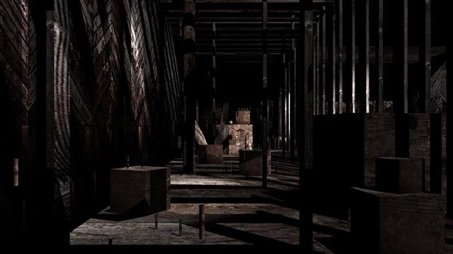 Wood World Zero 1st Maya Animation
