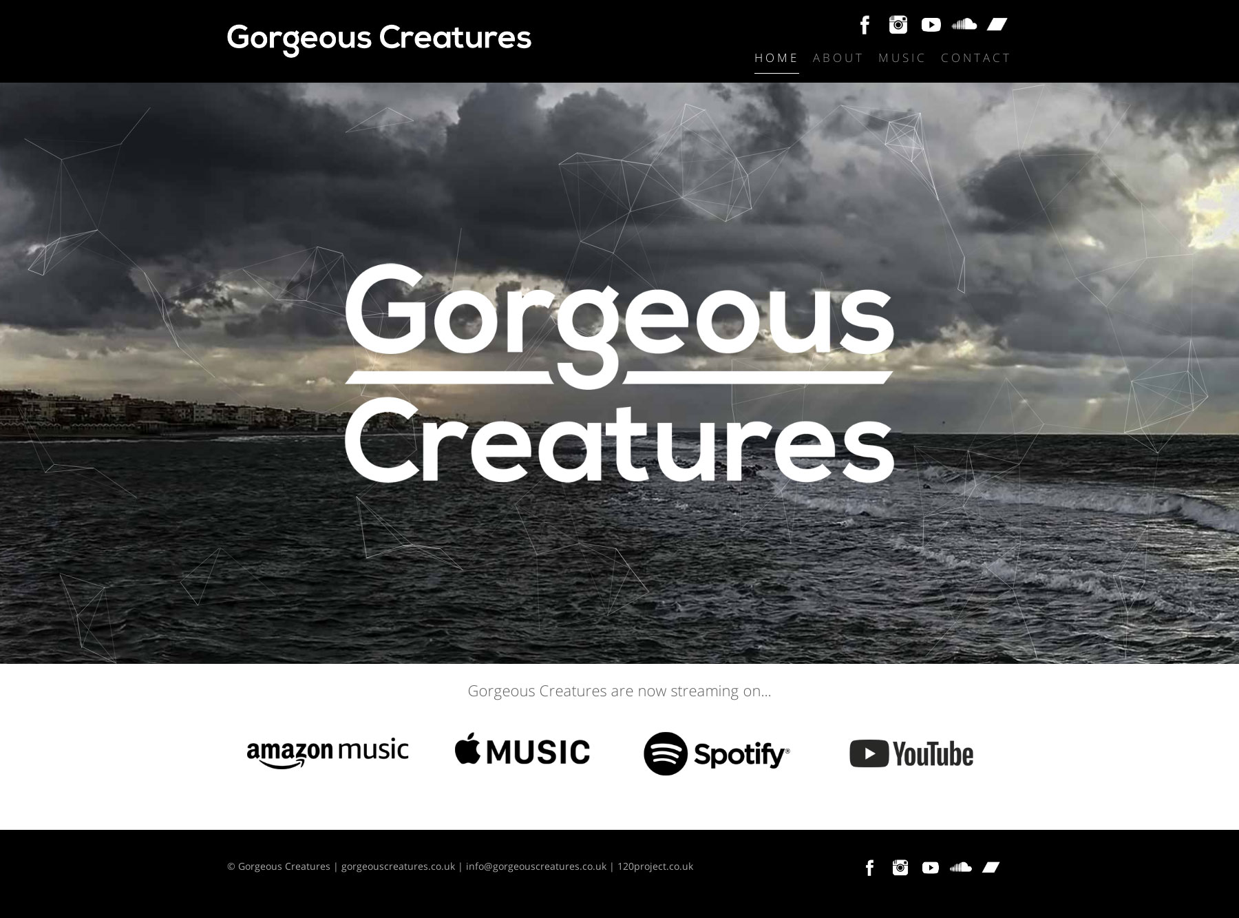 Gorgeous Creatures New Website